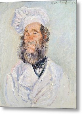 Cook Metal Print by Claude Monet