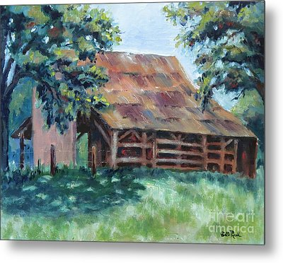 Cool Barn Metal Print