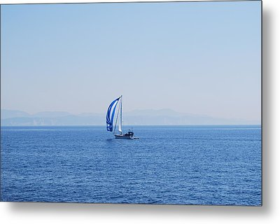 Cool Breeze Metal Print by George Katechis
