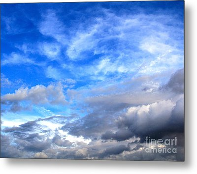 Cool Clouds Metal Print by Jay Nodianos