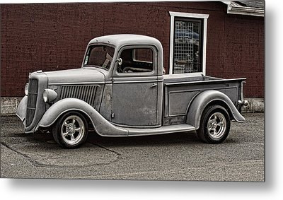 Cool Little Ford Pick Up Metal Print