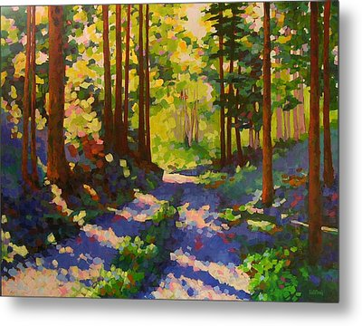 Cool Of The Shade Metal Print by Mary McInnis