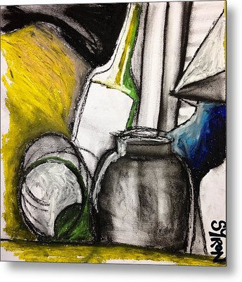 Cool Still Life Metal Print by Helen Syron