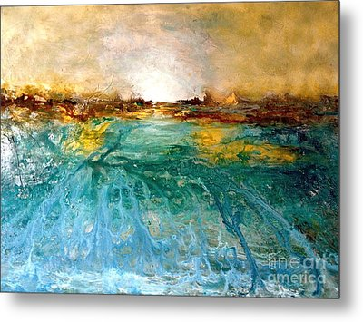 Cool Water Metal Print by Michelle Dommer