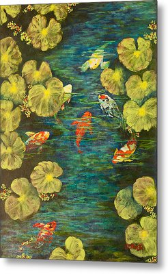 Cool Water Sanctuary Metal Print by Annie St Martin