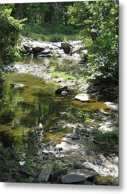 Metal Print featuring the photograph Cool Waters by Ellen Levinson