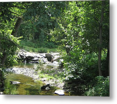 Metal Print featuring the photograph Cool Waters II by Ellen Levinson