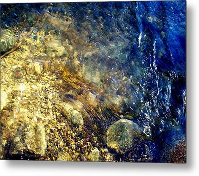 Cool Waters...of The Rifle River Metal Print by Daniel Thompson