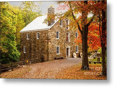 Cooper Gristmill Metal Print