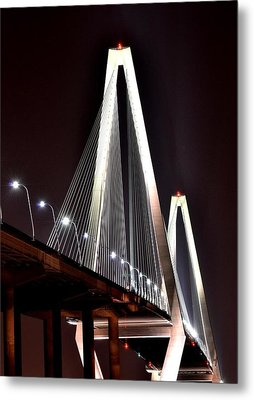 Cooper River Bridge  Metal Print