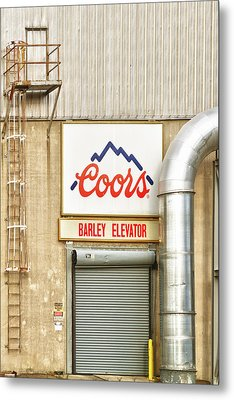 Coors Barley Elevator  Metal Print by James BO  Insogna