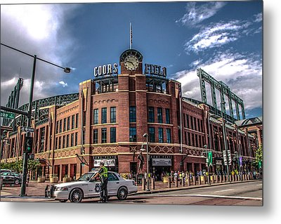 Colorado Rockies Metal Print by Ray Congrove