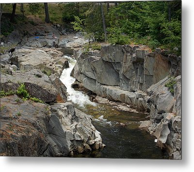 Coos Canyon In Maine Metal Print by Catherine Gagne