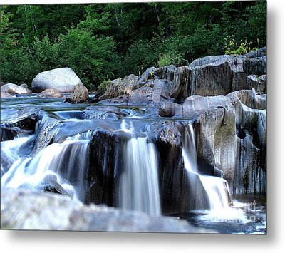 Coos Canyon Maine Metal Print by Donnie Freeman