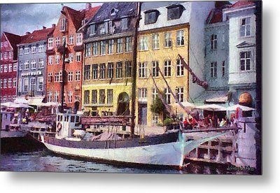 Copenhagen Metal Print by Jeff Kolker