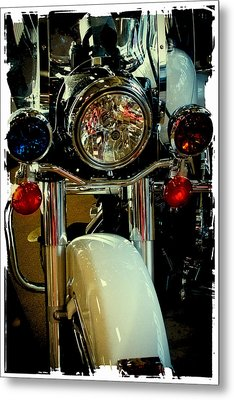 Copper Chopper Metal Print by David Patterson