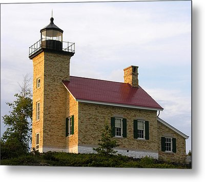 Copper Harbor Michigan Lighthouse Metal Print