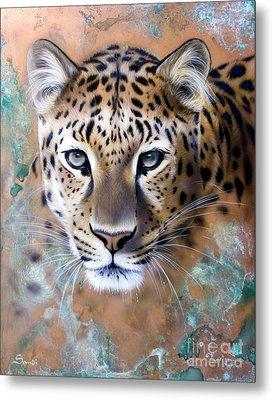 Copper Stealth - Leopard Metal Print