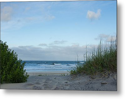 Metal Print featuring the photograph Coquina Beach by Gregg Southard