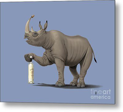 Cork It Durer Colour Metal Print by Rob Snow