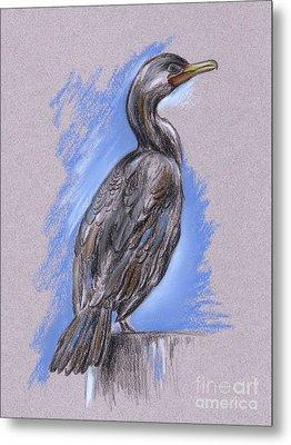Cormorant Metal Print by MM Anderson