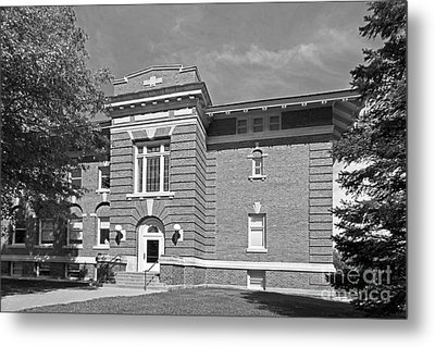 Cornell College Mc Wethy Hall Metal Print by University Icons