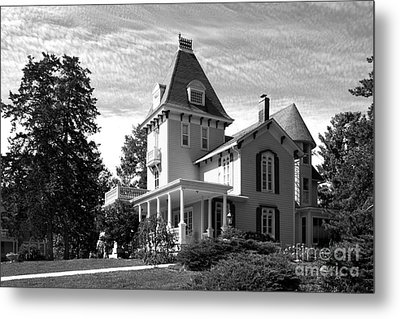 Cornell College President's House Metal Print by University Icons