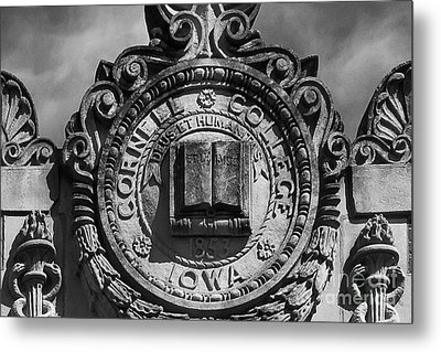 Cornell College Seal Metal Print by University Icons