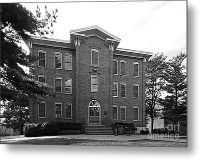 Cornell College South Hall Metal Print by University Icons