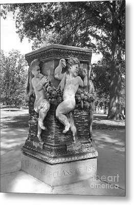 Cornell College The Old Fountain Metal Print by University Icons