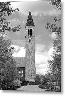 Cornell University Mc Graw Tower Metal Print