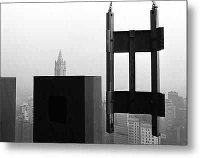 Corner Section Tower 1 Metal Print