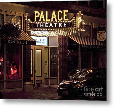 Corning Palace Theatre Metal Print by Tom Doud