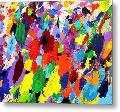 Cornucopia Of Colour I Metal Print