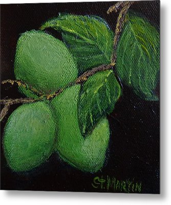 Corona And Lime Metal Print by Annie St Martin