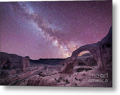 Corona Arch Milky Way Metal Print