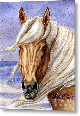 Corona Band Stallion Of Sand Wash Basin Hma Metal Print