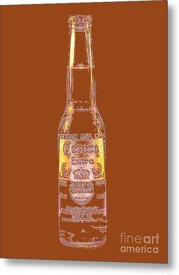 Corona Beer 20130405v2 Metal Print by Wingsdomain Art and Photography