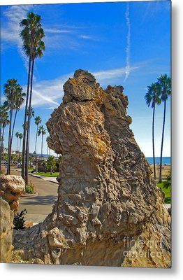 Corona Del Mar State Beach - 02 Metal Print by Gregory Dyer