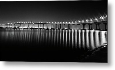 Coronado Bay Bridge Metal Print by Ryan Weddle