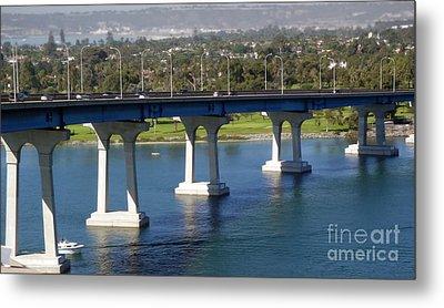 Coronado Bridge Metal Print by Gregory Dyer
