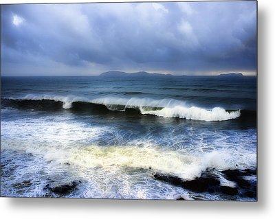 Coronado Islands In Storm Metal Print by Hugh Smith