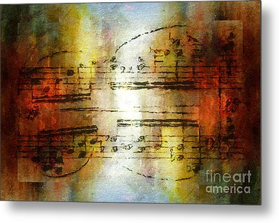 Corroded Cadence Metal Print by Lon Chaffin