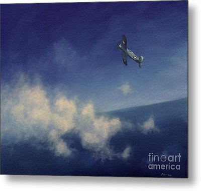 Metal Print featuring the painting Corsair by Stephen Roberson