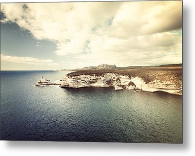 Metal Print featuring the photograph Corsica Winter by Philippe Sainte-Laudy