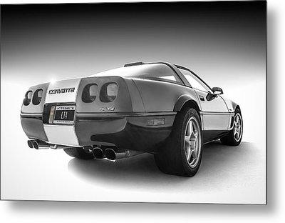 Corvette C4 Metal Print by Douglas Pittman