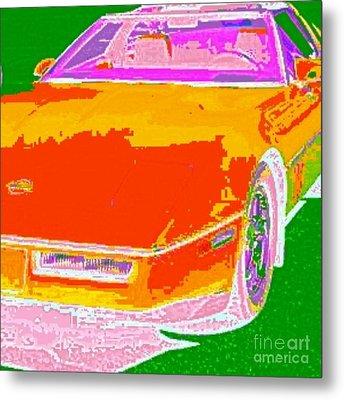 Corvette Dreams Metal Print by James Eye