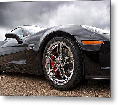 Corvette Z06 Metal Print