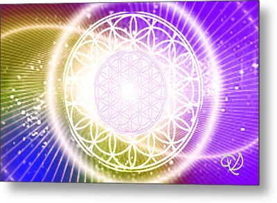 Cosmic Adjustment Metal Print