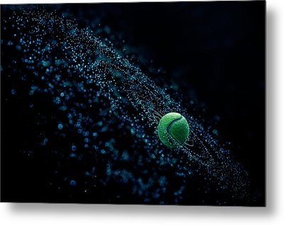 Cosmic Ball Metal Print by Joe Conroy